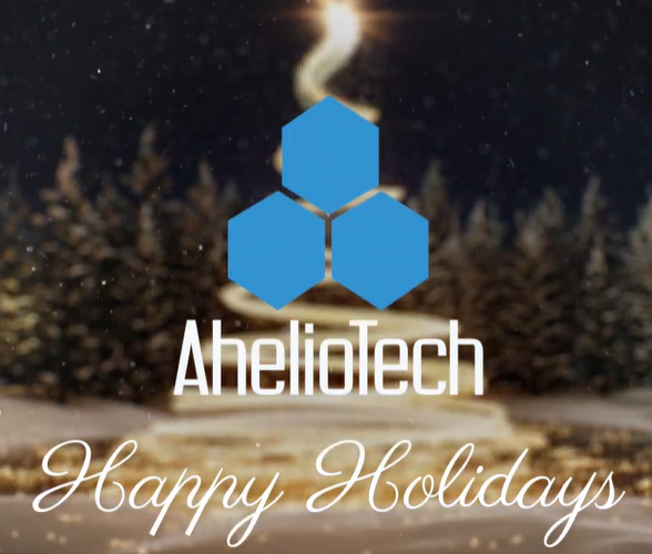 Happy Holidays from AhelioTech